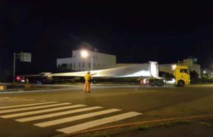 17支 Vestas風機運輸及安裝