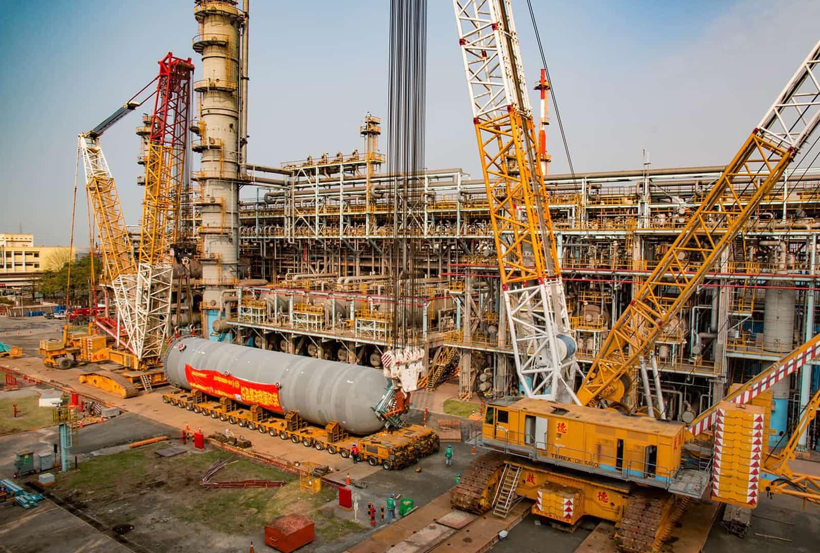 2016 大林煉油反應爐吊裝
